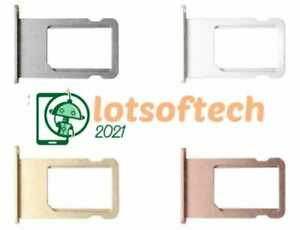 New Replacement Nano SIM Card Tray Holder for iPhone 6S & 6S+ Plus - All Colours