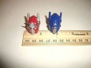TRANSFORMERS PARTS LOT LEADER CLASS OPTIMUS PRIME & SENTINEL PRIME HEADS