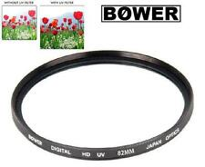 Bower 82mm Digital HD UV Lens Filter Canon XF305 XF300 Panasonic AG-HVX200
