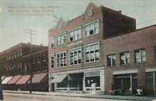 Postcard Penna Ave New Salvation Army Building Warren PA