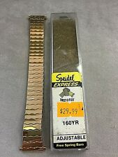 Gold SPEIDEL  18 19 20 21 22mm  TWIST O FLEX BRACELET Stainless Steel WATCH BAND