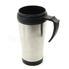 500ML Stainless Steel ABS Mug Travel Tea Cup Coffee Tumbler New
