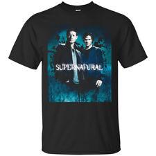 The Supernatural TV Series Black Men's T-Shirt Tee