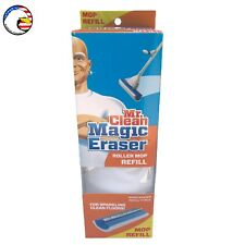 "🧼 Mr. Clean ""Magic Eraser"" Blue/White Roller Mop Refill •FREE Same Day S&H•"