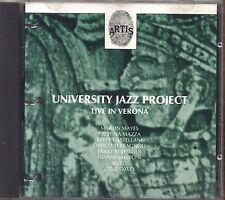 UNIVERSITY JAZZ PROJECT - Live in Verona - CD 1991 USATO OTTIME CONDIZIONI