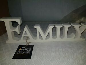 Family plaque sign wooden 35cm