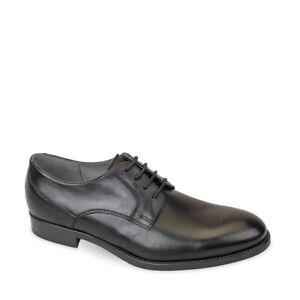 VALLEVERDE 46805 Chaussures Élégant cerimonia Homme en Cuir Noir