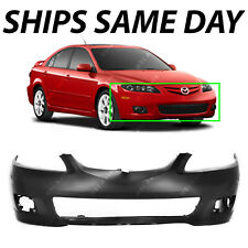 New Primered - Front Bumper Cover Replacement For 2006-2008 Mazda 6 06-08