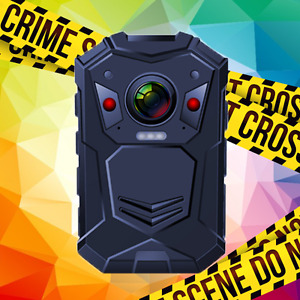 OverWatch EH150 1296P XHD Police Worn IR Body Camera Video Recorder GPS HDMI