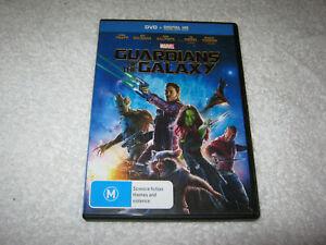 Guardians of the Galaxy - Chris Pratt - VGC - DVD - R4