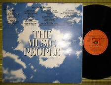 THE MUSIC PEOPLE V/A /ARGENT DREAMS TITANIC/ 3xLP 1972 UK VG+/VG+/VG+/VG TRIFOLD
