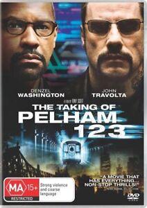 The Taking Of Pelham 123 (DVD Region 4) Denzel Washington, John Travolta
