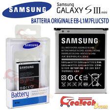 Batteria Originale 1500mah EB-L1M7F Per Samsung Galaxy S3 Mini NFC I8200 I8190N