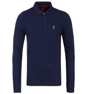 Luke 1977 Williams Long Sleeve Polo Shirt - Navy
