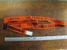 Moose The Family Fraternity Fraternal Order of the Moose Lodge Luggage Strap