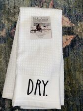 Rae Dunn Clean and Dry Kitchen Hand Towels Set of 2 Collectible
