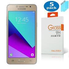 [5x] Nacodex For Samsung Galaxy Galaxy J2 Ace HD Tempered Glass Screen Protector