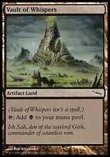 1x Vault of Whispers Mirrodin MtG Magic Land Common 1 x1 Card Cards MP