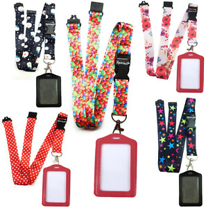 Spirius Original Lanyard Neck Strap with ID Card Badge Holder for phone key