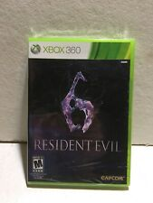 Resident Evil 6  (Xbox 360) Brand New Factory Sealed Still In Plastic