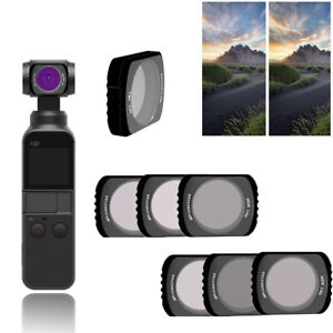 CPL UV STAR ND4 ND8 ND16 ND32 ND64 Camera Lens Filters for DJI OSMO POCKET Top