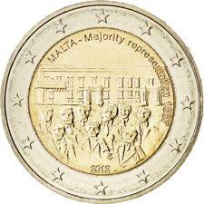 [#85025] Malta, 2 Euro, 2012, MS(63), 8.50