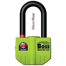 OXFORD Big Boss Alarm Ultra Strong Motorcycle Padlock Disc Lock- OF4