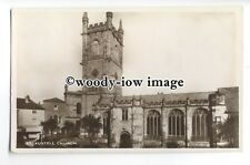 cu2444 - Parish Church in St, Austell, & Queens Head Hotel, Cornwall - postcard