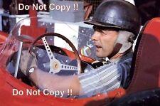 Phil Hill Ferrari F1 ritratto italiano GRAND PRIX 1958 Fotografia