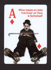 Charlie Chaplin The Little Tramp Neat Playing Card #8Y7