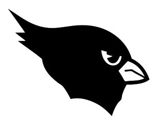 """Arizona Cardinals NFL Decal """"Sticker"""" for Car or Truck or Laptop"""