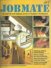 JOBMATE 19 DIY - ELECTRICS, WOOD PANELLING, SCREWS etc