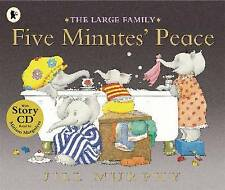 Five Minutes' Peace by Jill Murphy (Paperback) Book and CD