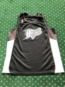 Fox Racing MTB T-Shirt Enduro Jersey. Black Mesh Sleeveless Men's Size Large