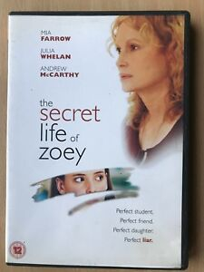 The Secret Life of Zoey DVD 2002 Problem Teen Movie Drama starring Mia Farrow