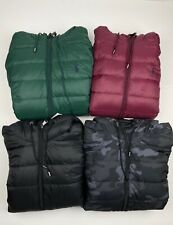Polo Ralph Lauren Down Fill Packable Hooded Puffer Jacket VARIOUS COLOURS