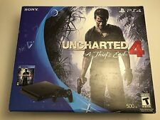 Sony CUH-2015A PS4 Game Console Uncharted 4: A Thief's End Bundle 500GB Black