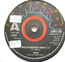 """ROBIN - Being On Watership Down - Excellent Condition 7"""" Single EMBS 366"""