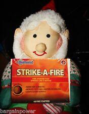 Diamond Strike-a-Fire Matches Match/Fire 48   sticks  New