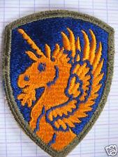 INSIGNE,PATCH,TISSUS,13th AIRBORNE DIVSION,U.S.,WWII