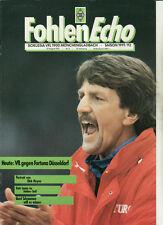 BL 91/92 Borussia Mönchengladbach - Fortuna Düsseldorf