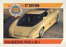 1990 Bertone Nivola ZR-1 Dream Cars Trading Card, Road Automobile - Not Postcard