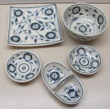 Blue and white dish, bowl, dipping dishes, divided dish - World Market