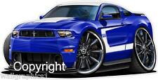 2012 Ford Mustang Boss 302 Wall Graphic Vinyl Decal Man Cave Boys Room Truck NEW