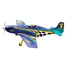 THE WORLD MODELS VOODOO MUSTANG EP W/RETRACT GEAR Radio Control Airplane 3-cell