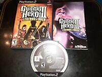 Guitar Hero III: Legends of Rock (Sony PlayStation 2, 2007) *BUY 2 GET 1 FREE*