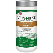Vet's Best Flea and Tick Wipes for Dogs and Cats | Targeted Flea & Tick