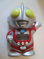 "ULTRAMAN Digital Alarm Clock w box Works Vintage Bought in Japan in 1990's 4"""