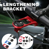 AG/_ Bike Bicycle Handle Bar Extension Lamp Light Phone Mount Bracket Holder Nove