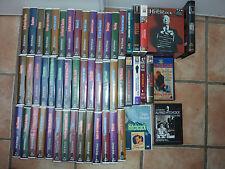 Lot de 55 k7 vhs collection alfred hitchcock films VIDEO BON ETAT CINEMA